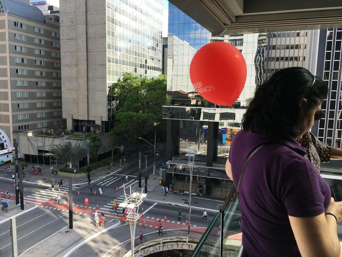 Cette lumière, sur la Paulista !