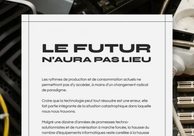 CTRLS • Un présent technosolutionniste est un futur qui n'aura pas lieu
